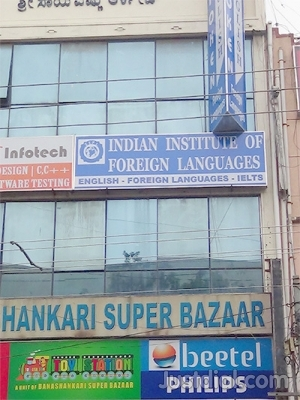 Indian Institute of Foreign Languages Spoken English classes
