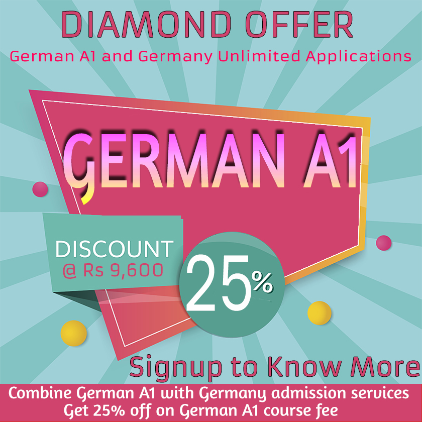 German Language Diamond Offer