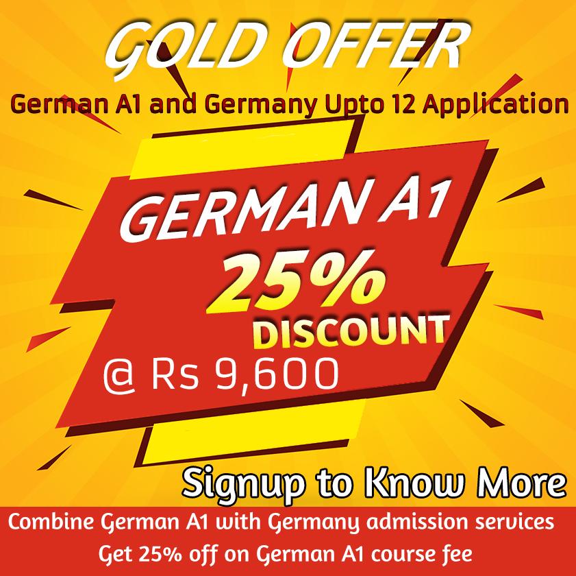 German Gold Offer